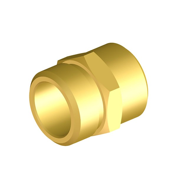 Gewindenippel G3/4 links - G1/2 M Braglia 200.1101.20