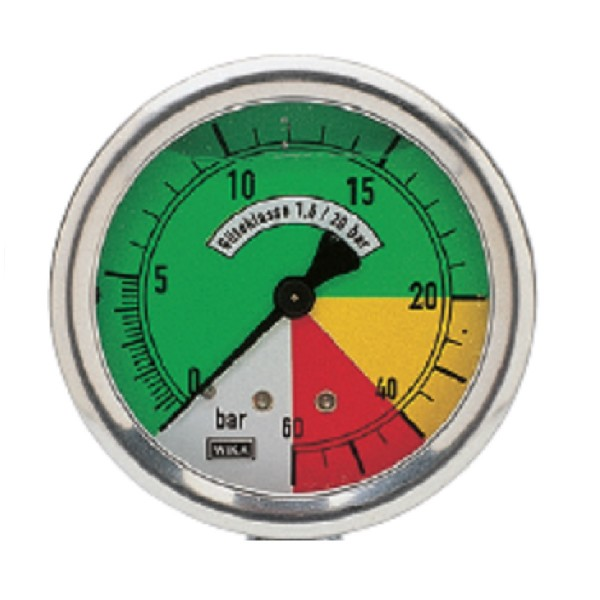 Manometer 60 bar 176.1005.24