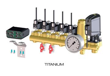 elektrische Hochdruckarmatur Titanium 4TB Braglia M200AH5XX0001