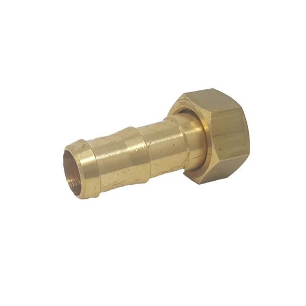 Schlauchanschluss gerade 19mm (30mm Mutter) Braglia 162.604.9