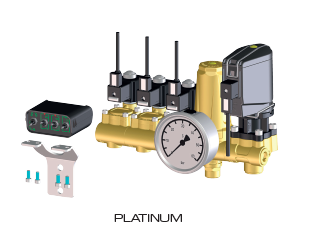 elektrische Hochdruckarmatur Platinum 2TB Braglia M200AH3XX0001