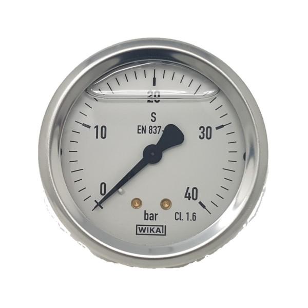 Manometer 40 bar Anschluss hinten Braglia 176.1005.11