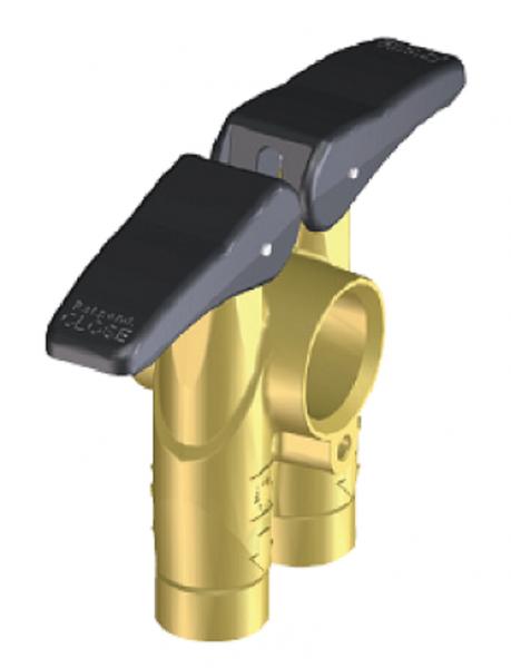 Handventil M172 40bar Braglia 172.1903.10 G